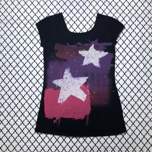 Hot Topic Tops - Hot Topic (Thread) Star Graphic Tee